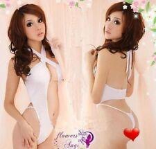 Picardías y camisetas interiores de mujer sin marca color principal blanco