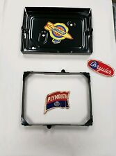 1942 PLYMOUTH, DODGE, DESOTO, CHRYSLER BRAND NEW BATTERY TRAY AND HOLD DOWN