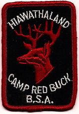Boy Scout  CAMP RED BUCK   HIAWATHALAND CNCL   MICH