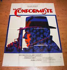 THE CONFORMIST 1971 Original large French Poster BERNARDO BERTOLUCCI
