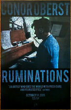 CONOR OBERST Ruminations Ltd Ed RARE Poster +FREE Indie Rock Poster! BRIGHT EYES