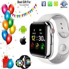 Bluetooth Reloj Inteligente SIM Tarjeta Sd Para Niños Mujer para Deportes Fitness Tracker + Cámara UK