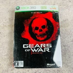 Gears of War Deluxe Edition Xbox 360 Japan Import Complete