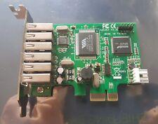 7 Port 6 External 1 Internal USB 2.0 PCI-e 1x StarTech PEXUSB7LP