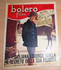 ED.MONDADORI SERIE BOLERO FILM ANNO XVII° N°864 GIULIANA LOJODICE 1963 ORIGINALE