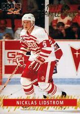1992-93 Pro Set Gold Team Leaders #4 Nicklas Lidstrom