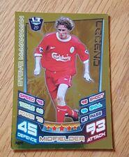 Match Attax Premier League 2012/2013 LEGENDS Steve McManaman Liverpool #484 (a)