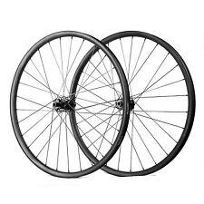 29er MTB Carbon fiber wheel 35mm wide hand build 15*100 and 12*142 FASTACE HUB