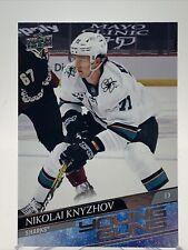 20-21 2020-21 Upper Deck 2 Nikolai Knyzhov ROOKIE Young Guns #492-Sharks