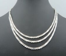 Massives Collier in Silber 835 (A178)