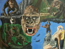 King Kong  an  original painting