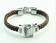 Anime Attack On Titan Bracelet Shingeki No Kyojin Cosplay Bracelets Unisex-Charm