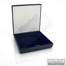 Schaubek Numismatik Münzkollektion Münz-Etui Omega, blauer Kunststoff, 220 mm x