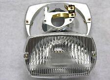 VESPA SCHEINWERFER V 50 N S SPECIAL Spezial Licht Lampe Fanale Trapez Lenker