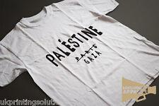 Free Palestine Gaza Celine Paris Protest T-Shirt Graphic Cotton Crew Neck