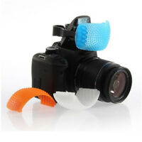 3 color Pops-Up Flash Bounce Diffuser Cover kit For Canon Nikon Pentax Olympus