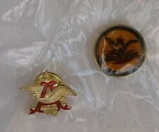 Budweiser Anheuser Busch + Black and Tan Hat Pin's Very Nice Lot