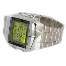Casio Mens Digital Data Bank SILVER Plated Steel Casio Db-360N-1a orologio RELOJ