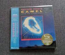 Camel Pressure Points: Live in Concert JAPAN MINI LP CD SEALED