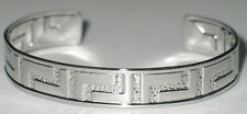 100% Solid Stainless Steel Polished GREAT WALL 12mm. Cuff Bangle Silver Bracelet