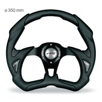Simoni Racing Volante Universale Sportivo X5350PUN/P in Vera Pelle e Alluminio