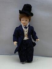 Künstlerpuppe Porzellan Puppe 15 cm. Top Zustand