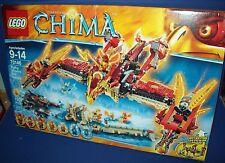 LEGO 70146 Flying Phoenix Fire Temple LEGENDS of CHIMA Retired NISB