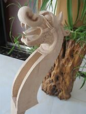 Musical instrument part Hand-made double bass neck 3/4,dragon carving