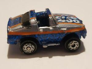 Micro Machines Super Sparklers Pontiac Trans Am No. 400 Glitter Blue