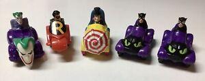 Batman Returns 1991 & Batman The Animated 1993 Toys  McDonald's  Lot DC Vintage