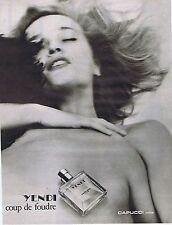 PUBLICITE ADVERTISING 045 1979 CAPUCCI Yendi coup de foudre