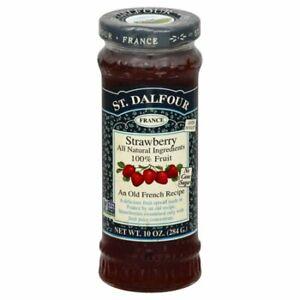 St. Dalfour Strawberry Fruit Spread 10 oz