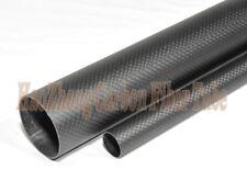 Matte OD 19mm ID 15mm x 1000mm (1m) 3k Carbon Fiber tube / Tubing /pipe 19*15 US