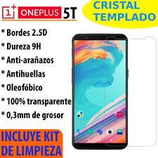 CRISTAL TEMPLADO PROTECTOR DE PANTALLA 0.3MM PARA ONEPLUS 5T  PREMIUM 9H 2.5D