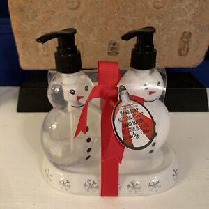Cracker Barrel Snowman Soap / Lotion Pump Dispenser