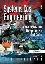 Systems Cost Engineering, Dale Shermon, Very Good, Hardcover