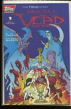 DRACULA VLAD THE IMPALER #1-3 NEAR MINT COMPLETE SET TOPPS COMICS