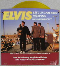 "ELVIS PRESLEY - 7"" SINGLE - GOLD VINYL - BABY , LET'S PLAY HOUSE - USA - RCA"