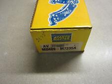 Parts Master MD409-M7235A Semi-Metallic Disc Brake Pads MD409