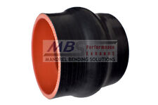 """SILICONE HUMP HOSE COUPLER 2"""" BLACK 5 PLY INTERCOOLER TURBO RACING MBS"""