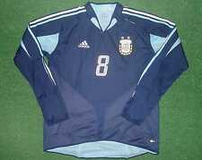 ROMAN RIQUELME ARGENTINA MATCH WORN SHIRT FRIENDLY MATCH 05