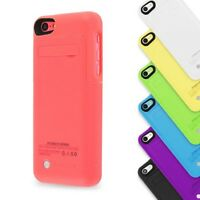 2200mAh iPhone 5 5S 5SE Battery Backup Charger Case Cover Pack Power Bank