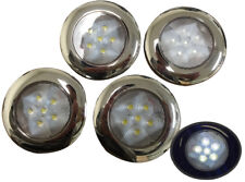 4 of Marine Boat Nature White LED Ceiling Light SS304 Housing Surface Mount 95LM