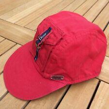 Christian Dior 4 Years Toddler Designer Boys Red Baseball Cap Sun Hat