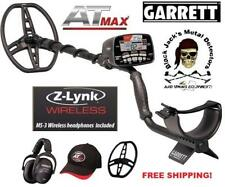 Garrett AT max Metal Detector. Includes Z-Link Wireless Tech. Package Deal