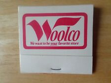 Woolco Store Unstruck Matchbook Texas Store Locations Woolworth
