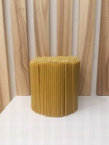 200 pieces Church candles,  100% beeswax with propolis Orthodox Church candles