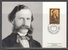 Liechtenstein Scott 847 Maxim Card - National Savings Bank, 125th Anniv.