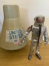 Vintage Action Man Astronaut and Space Capsule PALITOY