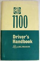 MG 1100 Sep 1967 AKD 3897 E Original Car Owners Handbook